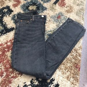 Girlfriend high rise jeans